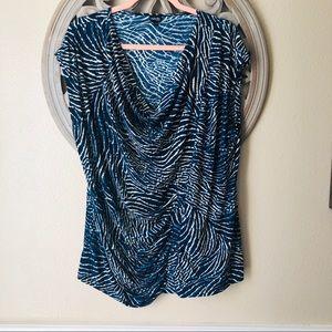 Rafaella brand  scoop neck blouse